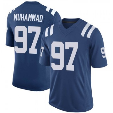 Youth Nike Indianapolis Colts Al-Quadin Muhammad Royal 100th Vapor Jersey - Limited