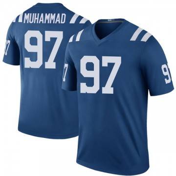 Youth Nike Indianapolis Colts Al-Quadin Muhammad Royal Color Rush Jersey - Legend