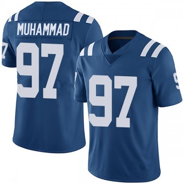 Youth Nike Indianapolis Colts Al-Quadin Muhammad Royal Team Color Vapor Untouchable Jersey - Limited
