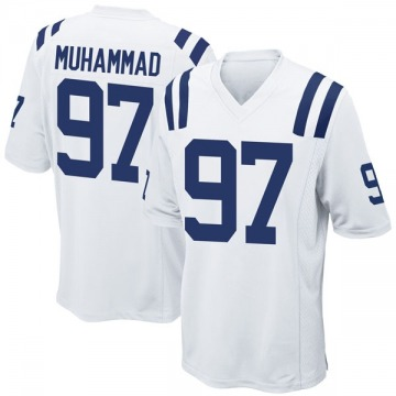 Youth Nike Indianapolis Colts Al-Quadin Muhammad White Jersey - Game