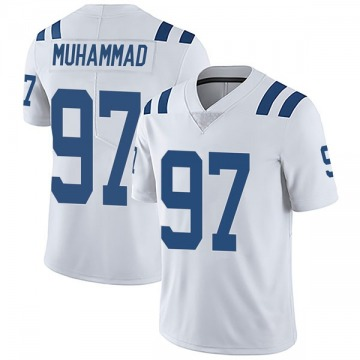 Youth Nike Indianapolis Colts Al-Quadin Muhammad White Vapor Untouchable Jersey - Limited