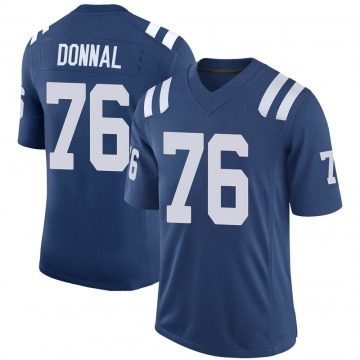 Youth Nike Indianapolis Colts Andrew Donnal Royal 100th Vapor Jersey - Limited