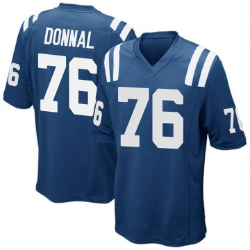 Youth Nike Indianapolis Colts Andrew Donnal Royal Blue Team Color Jersey - Game