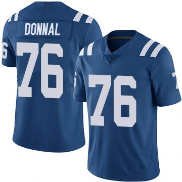 Youth Nike Indianapolis Colts Andrew Donnal Royal Team Color Vapor Untouchable Jersey - Limited