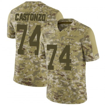 Youth Nike Indianapolis Colts Anthony Castonzo Camo 2018 Salute to Service Jersey - Limited