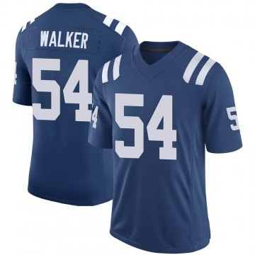 Youth Nike Indianapolis Colts Anthony Walker Royal 100th Vapor Jersey - Limited