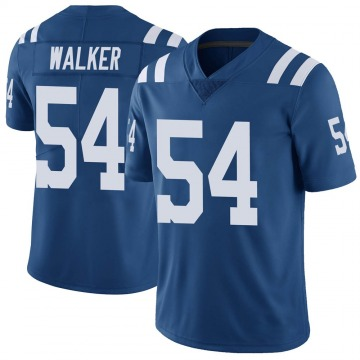 Youth Nike Indianapolis Colts Anthony Walker Royal Color Rush Vapor Untouchable Jersey - Limited