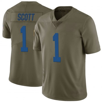Youth Nike Indianapolis Colts Artavis Scott Green 2017 Salute to Service Jersey - Limited