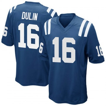 Youth Nike Indianapolis Colts Ashton Dulin Royal Blue Team Color Jersey - Game