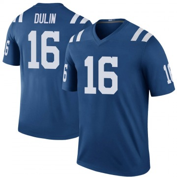Youth Nike Indianapolis Colts Ashton Dulin Royal Color Rush Jersey - Legend