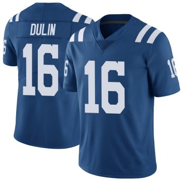 Youth Nike Indianapolis Colts Ashton Dulin Royal Color Rush Vapor Untouchable Jersey - Limited