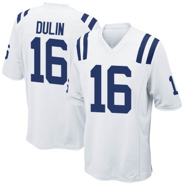Youth Nike Indianapolis Colts Ashton Dulin White Jersey - Game