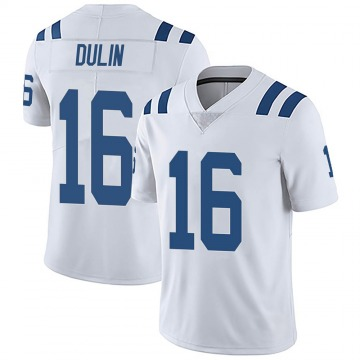 Youth Nike Indianapolis Colts Ashton Dulin White Vapor Untouchable Jersey - Limited