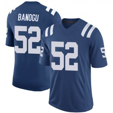 Youth Nike Indianapolis Colts Ben Banogu Royal 100th Vapor Jersey - Limited