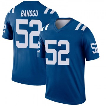 Youth Nike Indianapolis Colts Ben Banogu Royal Inverted Jersey - Legend