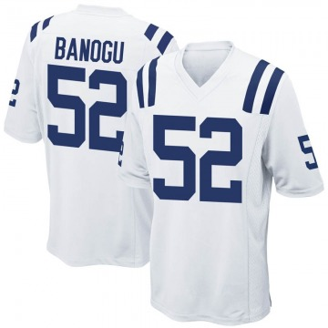 Youth Nike Indianapolis Colts Ben Banogu White Jersey - Game