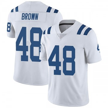 Youth Nike Indianapolis Colts Billy Brown White Vapor Untouchable Jersey - Limited