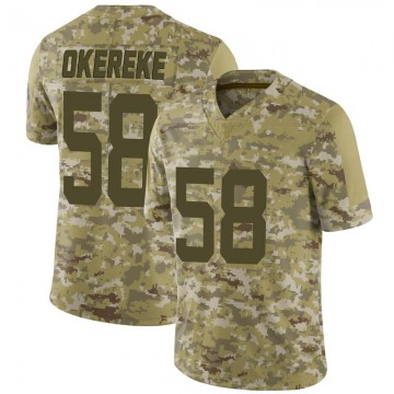 Youth Nike Indianapolis Colts Bobby Okereke Camo 2018 Salute to Service Jersey - Limited