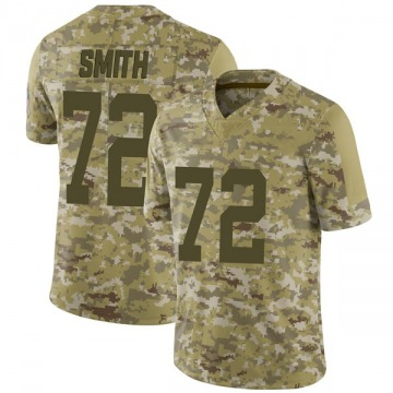 Youth Nike Indianapolis Colts Braden Smith Camo 2018 Salute to Service Jersey - Limited