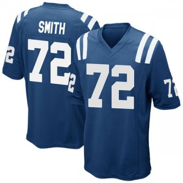 Youth Nike Indianapolis Colts Braden Smith Royal Blue Team Color Jersey - Game