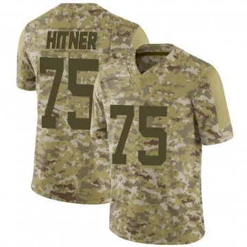 Youth Nike Indianapolis Colts Brandon Hitner Camo 2018 Salute to Service Jersey - Limited