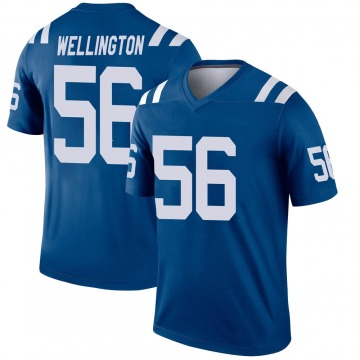 Youth Nike Indianapolis Colts Brandon Wellington Royal Jersey - Legend