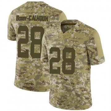 Youth Nike Indianapolis Colts Briean Boddy-Calhoun Camo 2018 Salute to Service Jersey - Limited