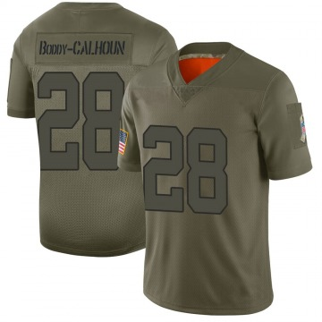 Youth Nike Indianapolis Colts Briean Boddy-Calhoun Camo 2019 Salute to Service Jersey - Limited