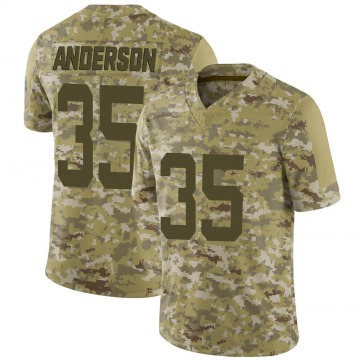 Youth Nike Indianapolis Colts Bruce Anderson Camo 2018 Salute to Service Jersey - Limited