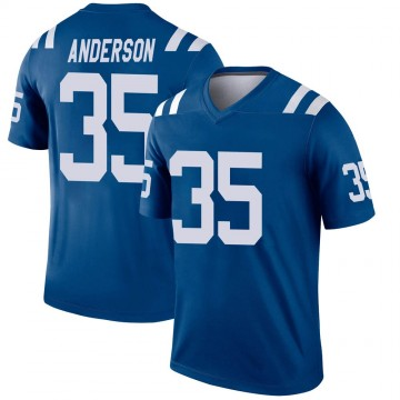 Youth Nike Indianapolis Colts Bruce Anderson Royal Jersey - Legend