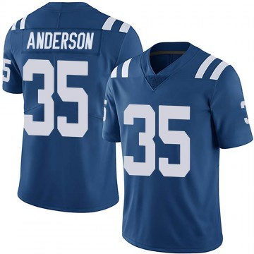 Youth Nike Indianapolis Colts Bruce Anderson Royal Team Color Vapor Untouchable Jersey - Limited