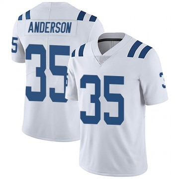 Youth Nike Indianapolis Colts Bruce Anderson White Vapor Untouchable Jersey - Limited