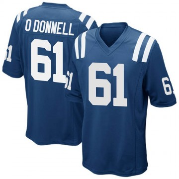 Youth Nike Indianapolis Colts Carter O'Donnell Royal Blue Team Color Jersey - Game
