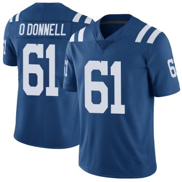 Youth Nike Indianapolis Colts Carter O'Donnell Royal Color Rush Vapor Untouchable Jersey - Limited