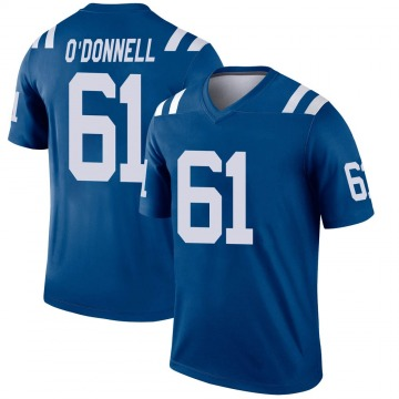 Youth Nike Indianapolis Colts Carter O'Donnell Royal Jersey - Legend