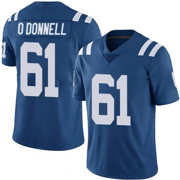 Youth Nike Indianapolis Colts Carter O'Donnell Royal Team Color Vapor Untouchable Jersey - Limited