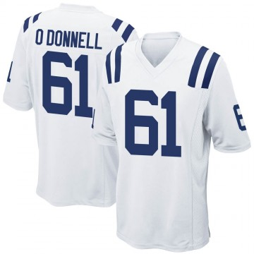 Youth Nike Indianapolis Colts Carter O'Donnell White Jersey - Game