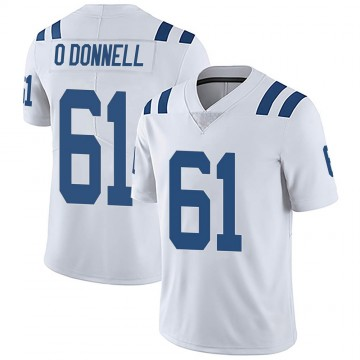 Youth Nike Indianapolis Colts Carter O'Donnell White Vapor Untouchable Jersey - Limited