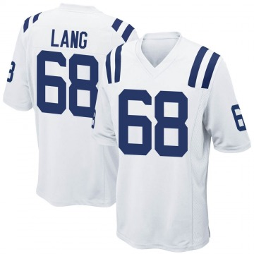 Youth Nike Indianapolis Colts Cedrick Lang White Jersey - Game