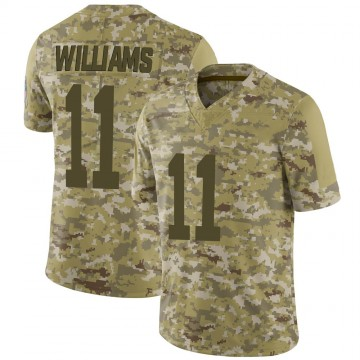 Youth Nike Indianapolis Colts Chad Williams Camo 2018 Salute to Service Jersey - Limited