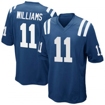 Youth Nike Indianapolis Colts Chad Williams Royal Blue Team Color Jersey - Game