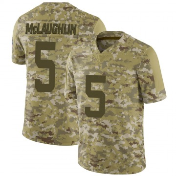 Youth Nike Indianapolis Colts Chase McLaughlin Camo 2018 Salute to Service Jersey - Limited