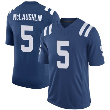 Youth Nike Indianapolis Colts Chase McLaughlin Royal 100th Vapor Jersey - Limited