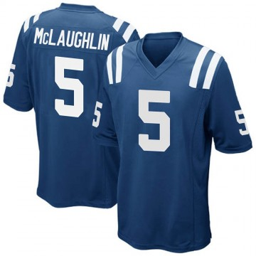 Youth Nike Indianapolis Colts Chase McLaughlin Royal Blue Team Color Jersey - Game