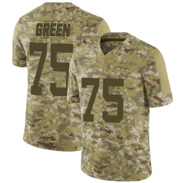 Youth Nike Indianapolis Colts Chaz Green Camo 2018 Salute to Service Jersey - Limited