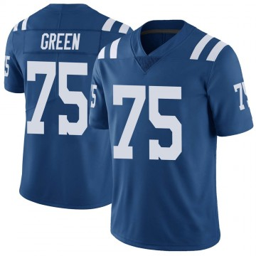 Youth Nike Indianapolis Colts Chaz Green Royal Color Rush Vapor Untouchable Jersey - Limited
