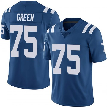 Youth Nike Indianapolis Colts Chaz Green Royal Team Color Vapor Untouchable Jersey - Limited