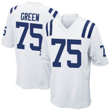 Youth Nike Indianapolis Colts Chaz Green White Jersey - Game