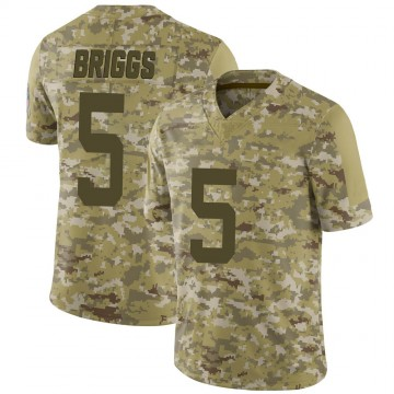 Youth Nike Indianapolis Colts Chris Briggs Camo 2018 Salute to Service Jersey - Limited