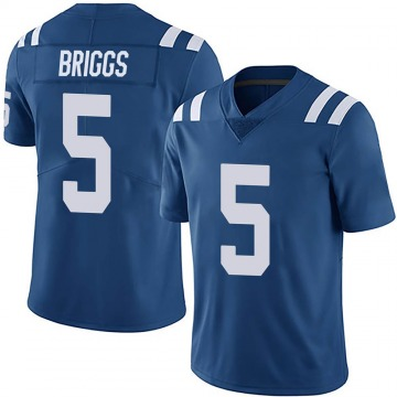 Youth Nike Indianapolis Colts Chris Briggs Royal Team Color Vapor Untouchable Jersey - Limited